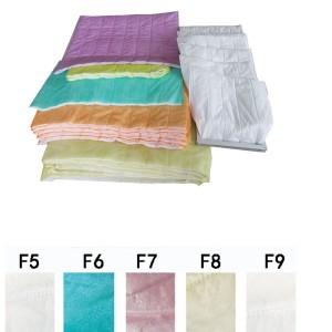Medium Efficiency F7 Synthetic air bag filter media